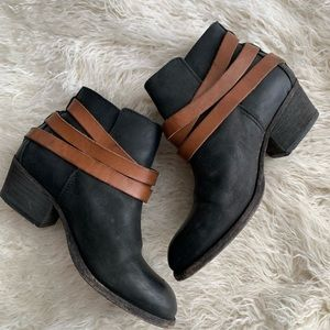 H by Hudson Boots Black & Brown Size 36
